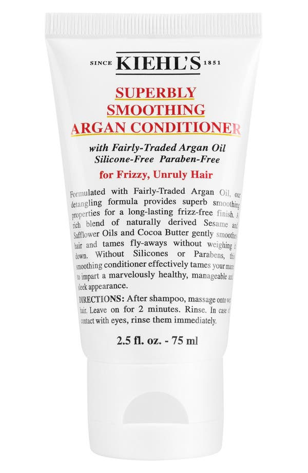 Main Image - Kiehl's Since 1851 'Superbly Smoothing' Argan Conditioner