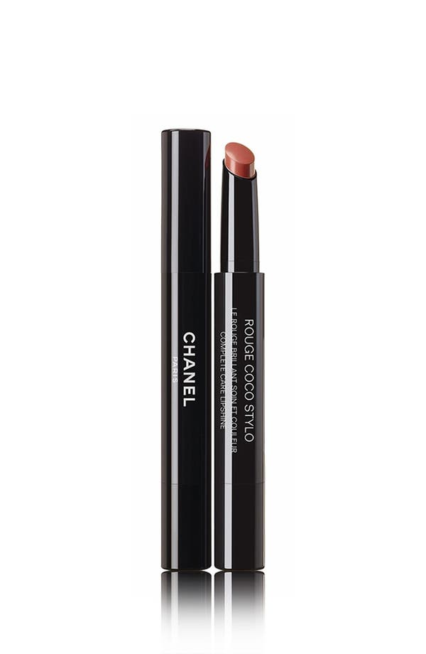 Alternate Image 1 Selected - CHANEL ROUGE COCO STYLO  Complete Care Lipshine