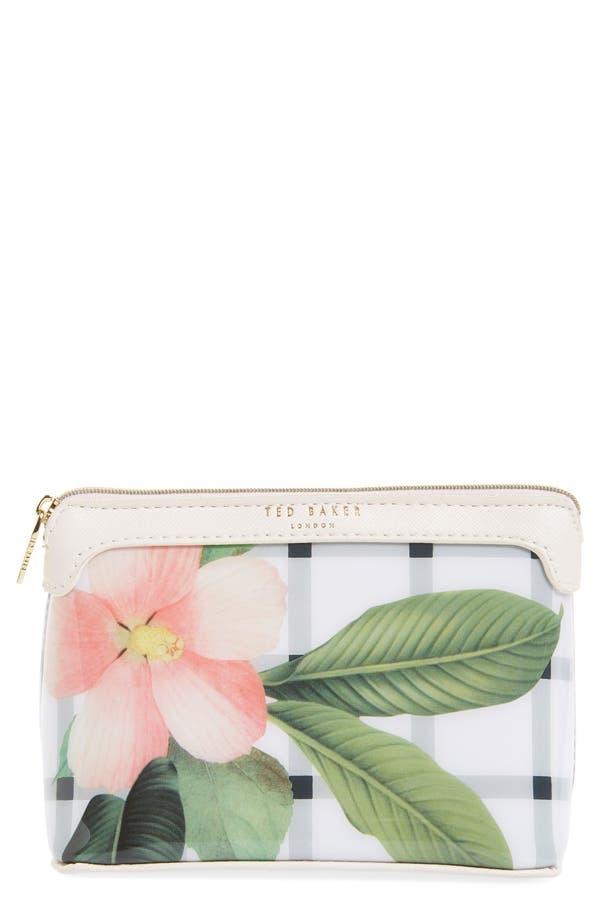Alternate Image 1 Selected - Ted Baker London 'Secret Trellis' Floral Cosmetics Case