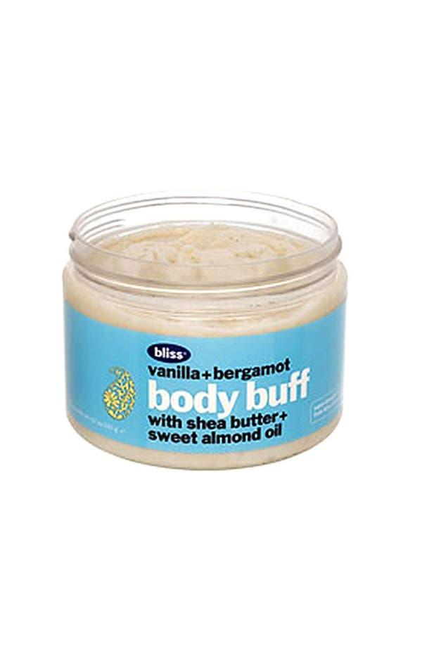 Alternate Image 1 Selected - bliss® 'Vanilla + Bergamot' Body Buff