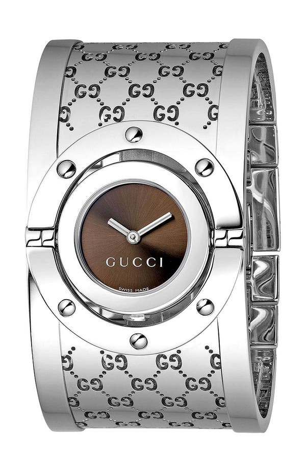 Alternate Image 1 Selected - Gucci 'Twirl Collection' Watch, 24mm
