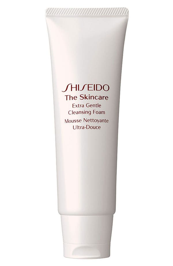 Alternate Image 1 Selected - Shiseido 'The Skincare' Extra Gentle Cleansing Foam