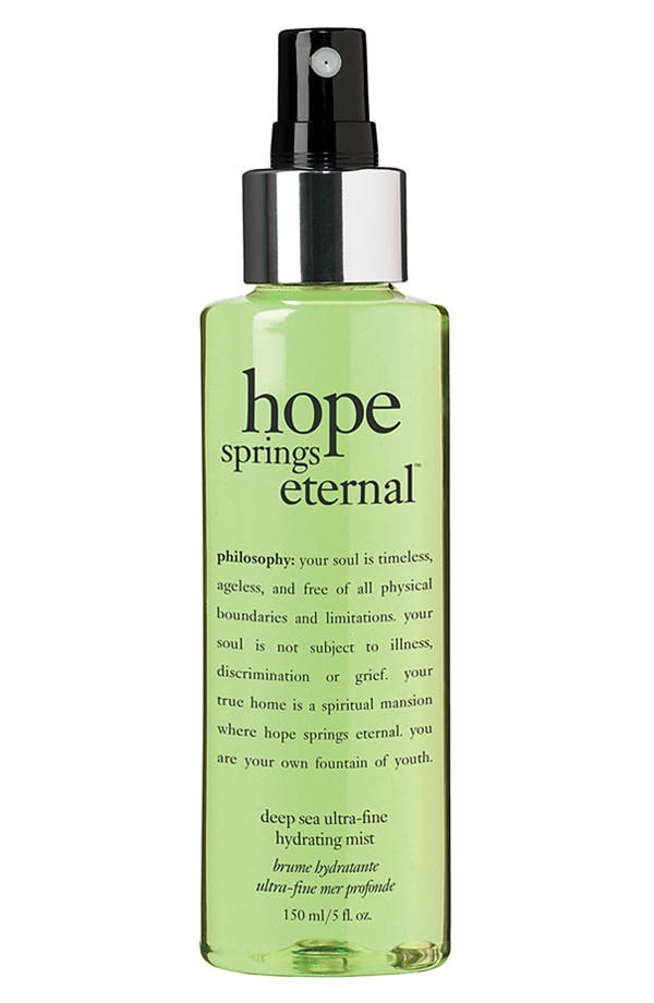 Main Image - philosophy 'hope springs eternal' facial mist