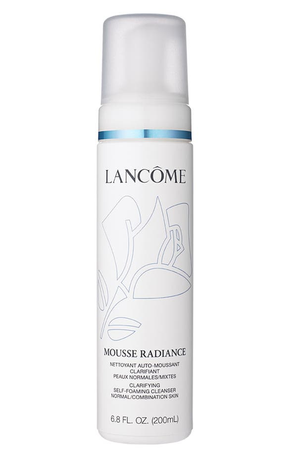 Alternate Image 1 Selected - Lancôme 'Mousse Radiance' Clarifying Self-Foaming Cleanser
