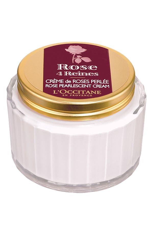 Alternate Image 1 Selected - L'Occitane 'Rose 4 Reines' Pearlescent Body Cream