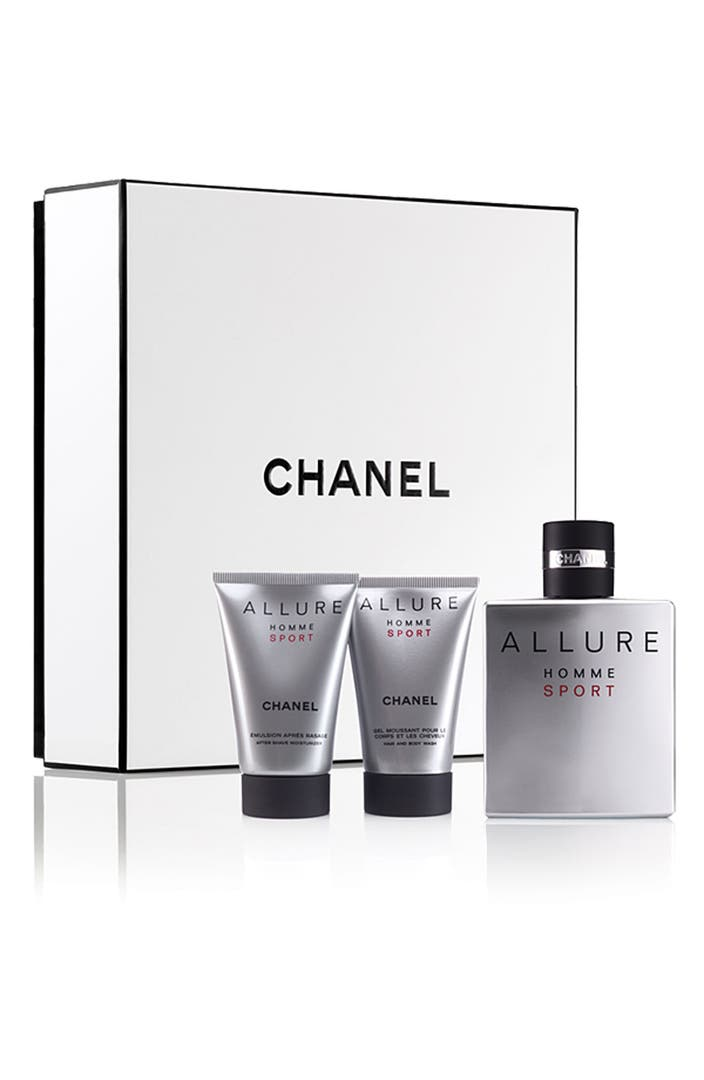chanel allure homme sport playing to win gift set nordstrom. Black Bedroom Furniture Sets. Home Design Ideas