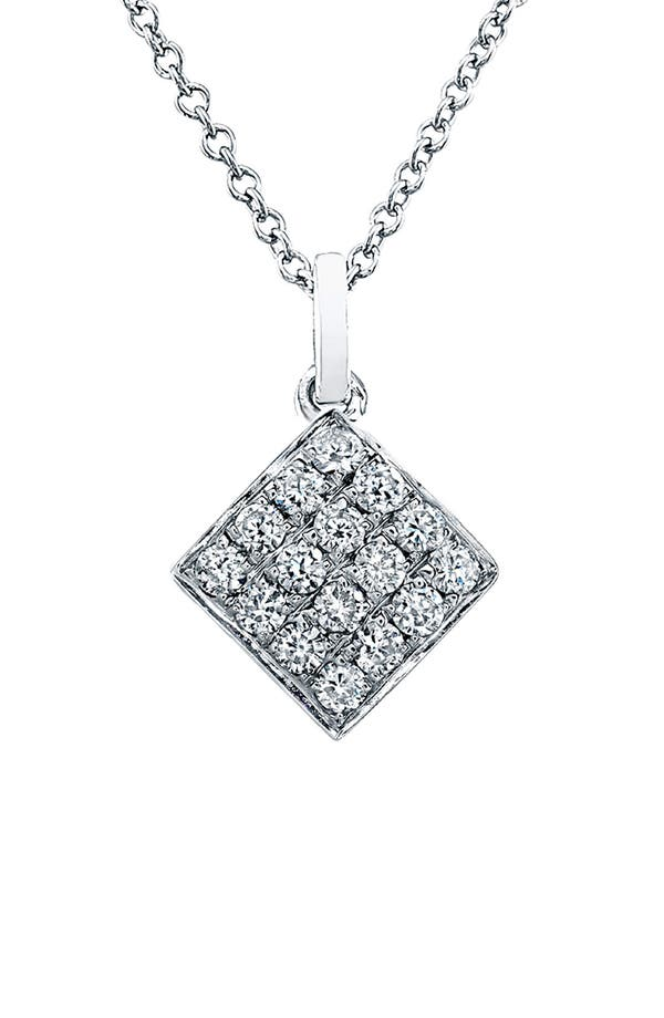 Alternate Image 1 Selected - Bony Levy Diamond Dome Pendant Necklace (Nordstrom Exclusive)