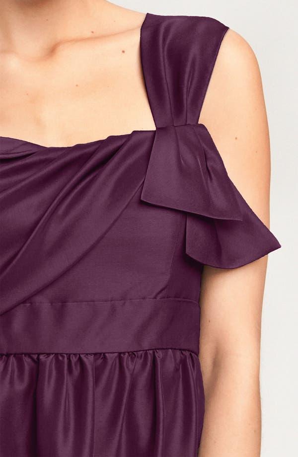 Alternate Image 3  - Jenny Yoo Convertible Shantung Dress