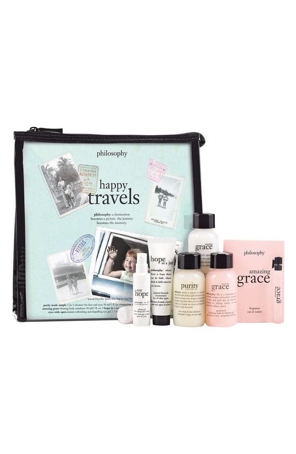 Main Image - philosophy 'happy travels' set ($53 Value)