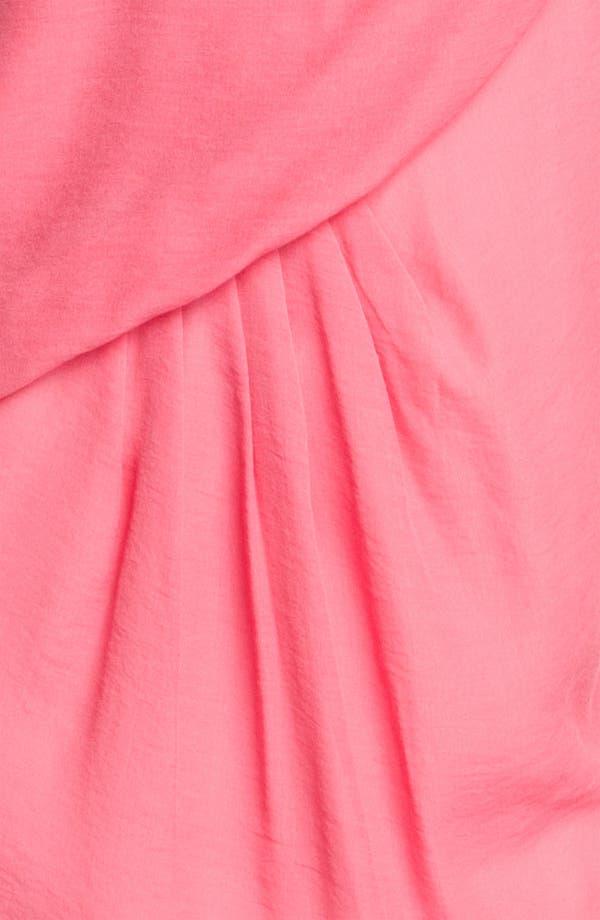 Alternate Image 3  - Maggy London One Shoulder Gauze Shift Dress