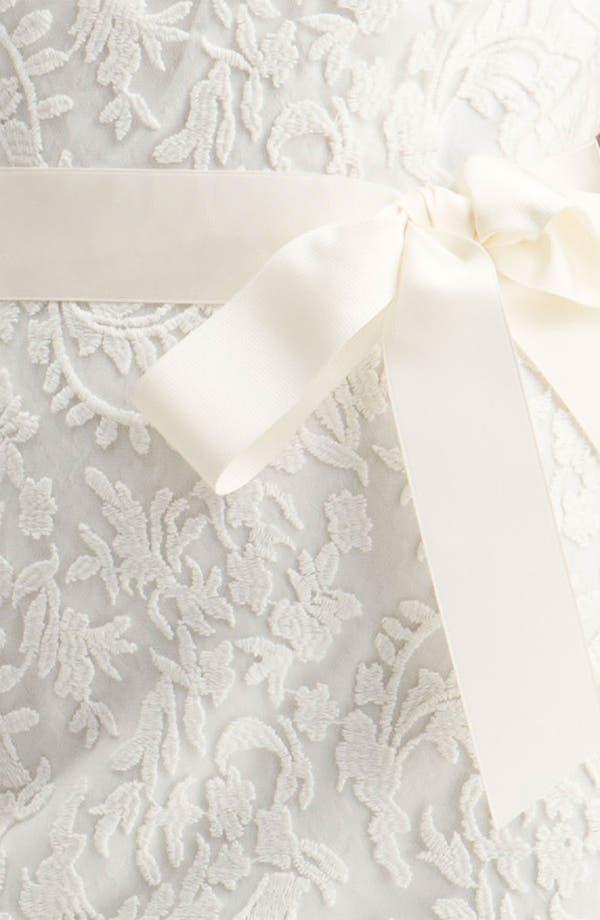 Alternate Image 3  - Tadashi Shoji One Shoulder Lace Overlay Sheath Dress