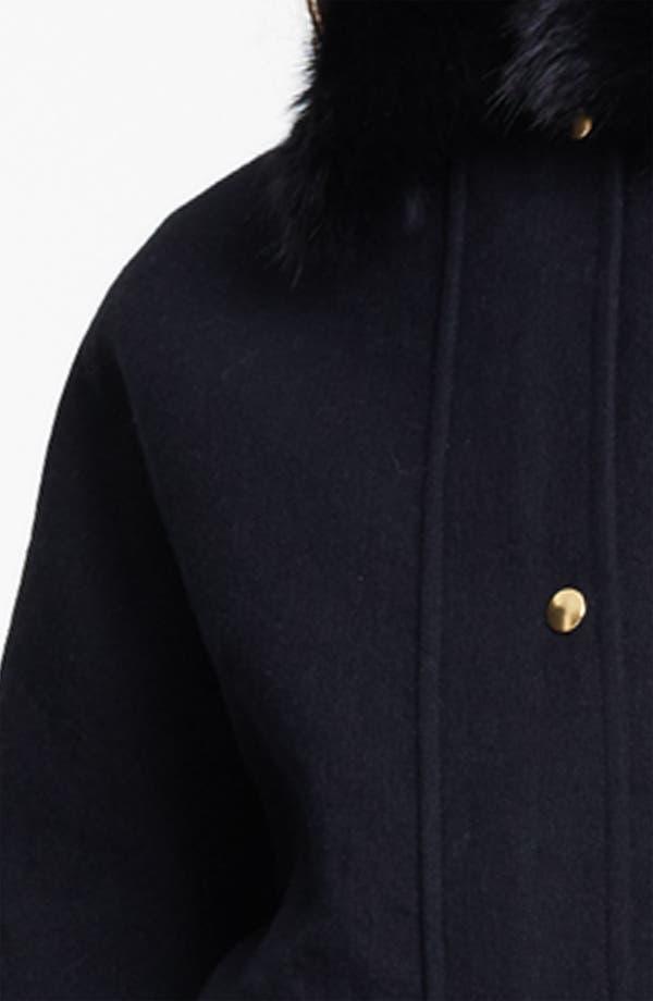 Alternate Image 2  - Marni Edition Fox Collar & Ferret Hem Coat