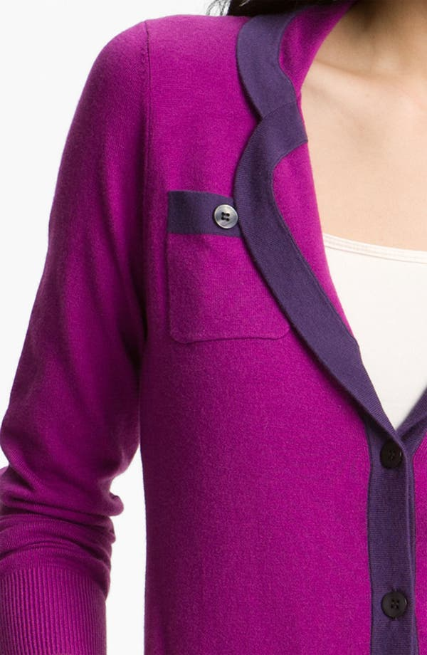 Alternate Image 3  - Halogen® Tipped Sweater Blazer