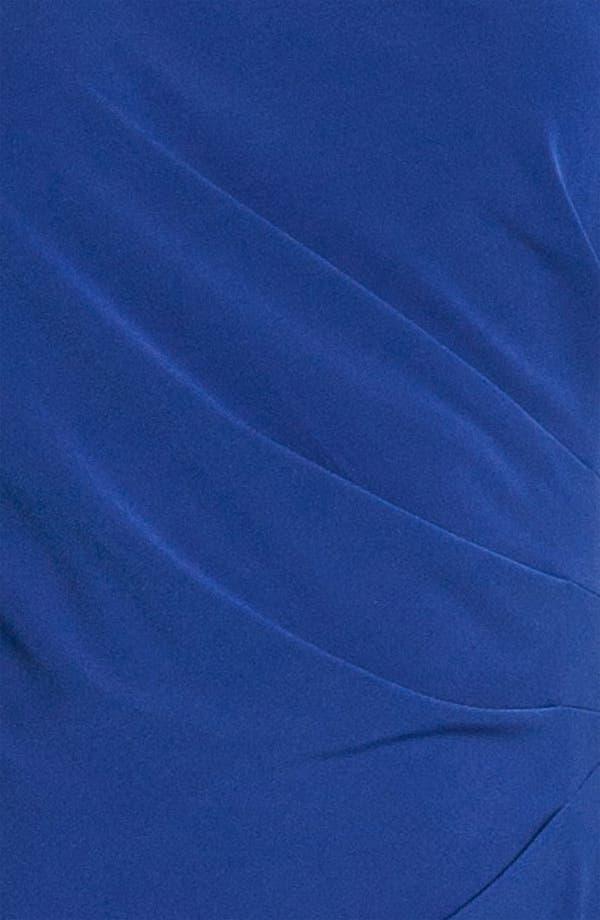 Alternate Image 3  - Donna Ricco Flutter Sleeve Jersey Dress