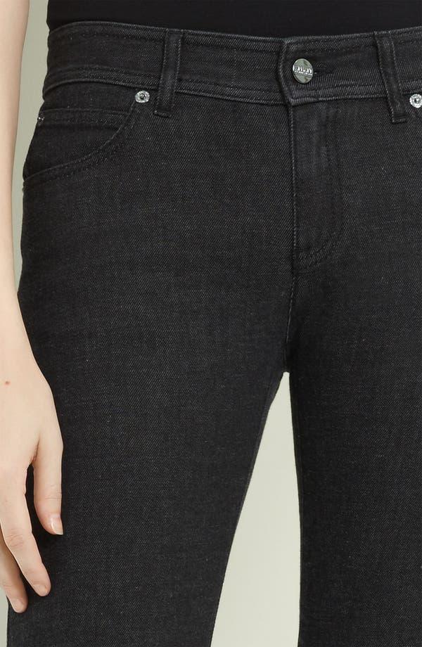 Alternate Image 3  - Armani Collezioni Cashmere Stretch Denim Jeans