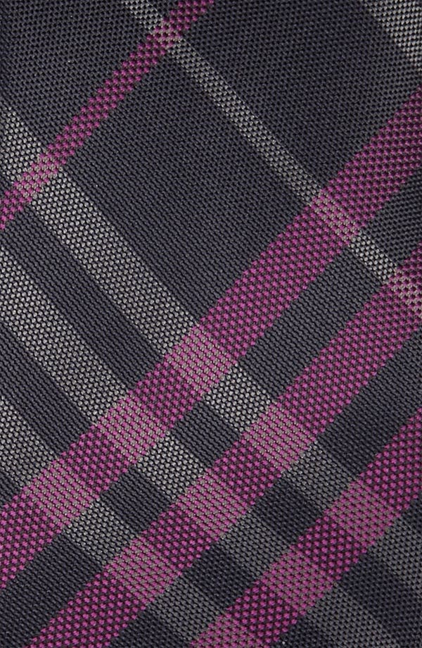 Alternate Image 2  - Burberry London Woven Silk Tie