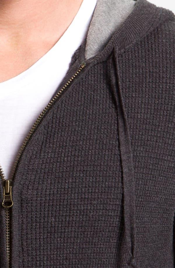 Alternate Image 3  - Vince Waffle Knit Zip Hoodie