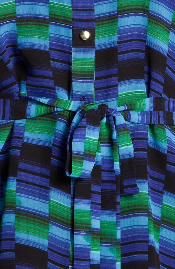 Alternate Image 3  - Chaus Belted Geometric Print Poncho Blouse