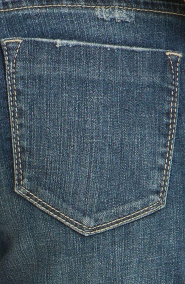 Alternate Image 3  - Vigoss Cuff Denim Shorts (Juniors)