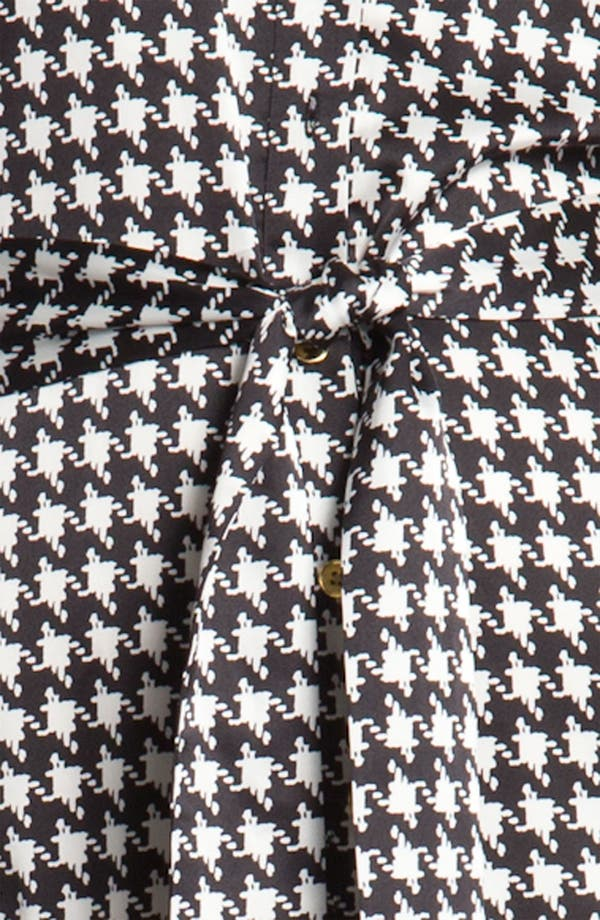 Alternate Image 3  - Chaus Houndstooth Shirtdress