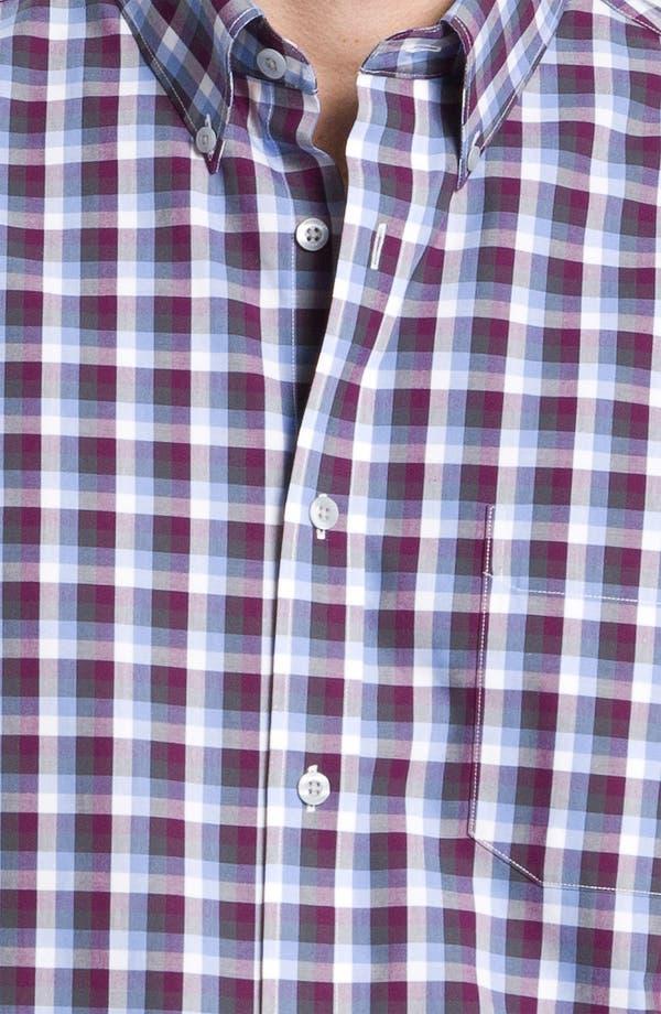 Alternate Image 3  - Nordstrom Smartcare™ Poplin Sport Shirt