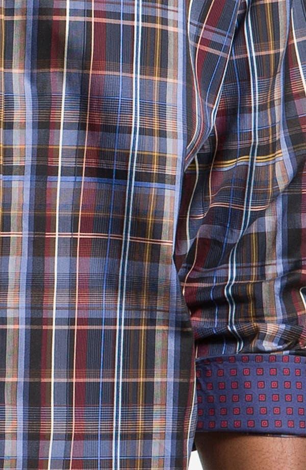 Alternate Image 3  - Thomas Dean Plaid Sport Shirt