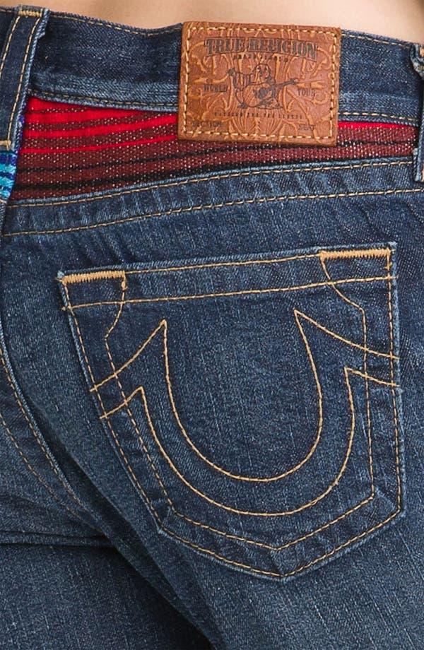 Alternate Image 3  - True Religion Brand Jeans 'Brianna' Boyfriend Jeans (Grid Iron)