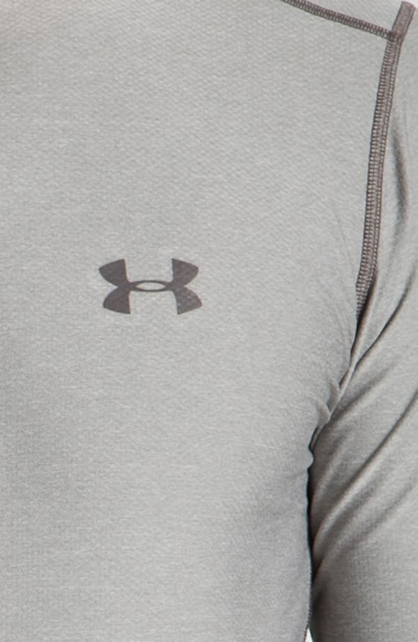Alternate Image 3  - Under Armour HeatGear™ Fitted Long Sleeve T-Shirt (Online Exclusive)