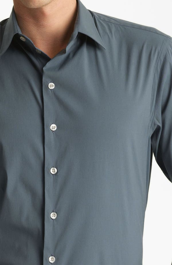 Alternate Image 3  - Armani Collezioni Stretch Sport Shirt