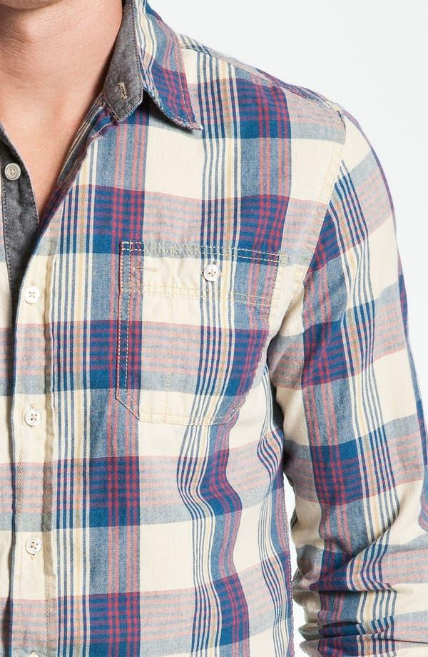 Alternate Image 3  - Just A Cheap Shirt Plaid Woven Shirt