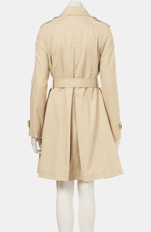 Alternate Image 2  - Topshop A-Line Trench