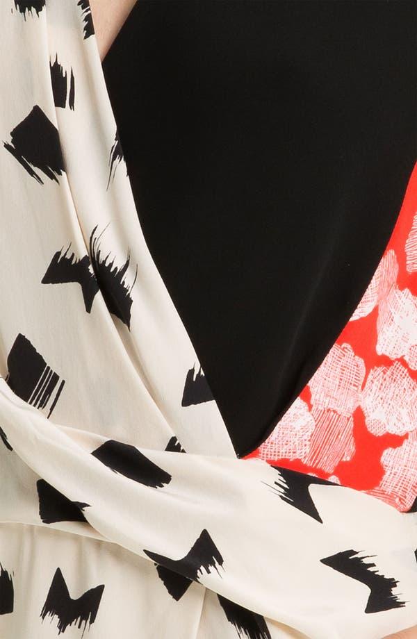 Alternate Image 3  - Diane von Furstenberg 'Jaime' Silk Faux Wrap Dress