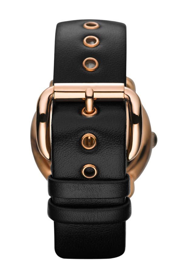Alternate Image 2  - MARC JACOBS 'Amy' Leather Strap Watch, 36mm