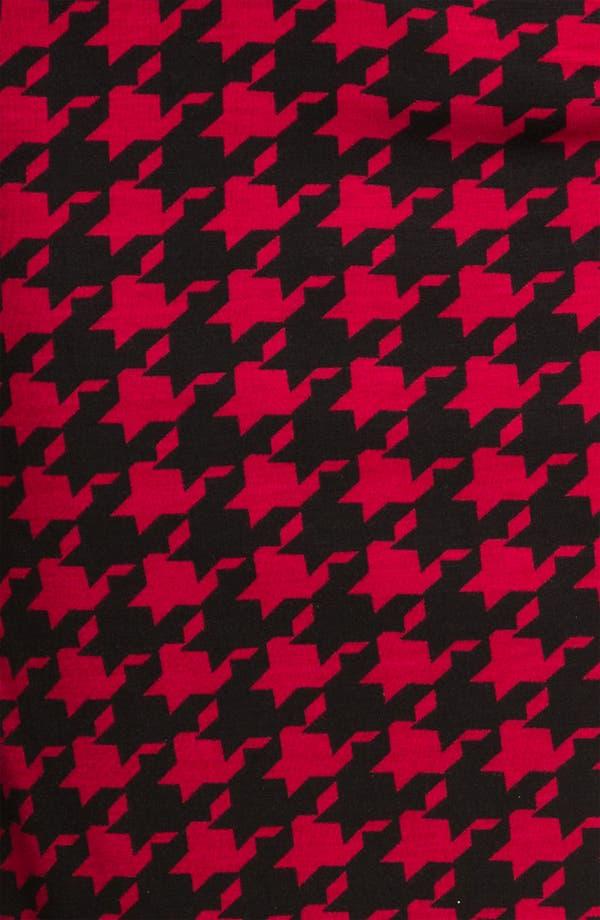 Alternate Image 3  - h.i.p Houndstooth Midi Pencil Skirt (Juniors)