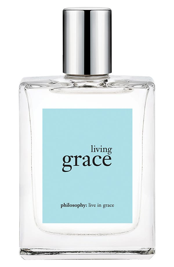 Alternate Image 1 Selected - philosophy 'living grace' eau de toilette
