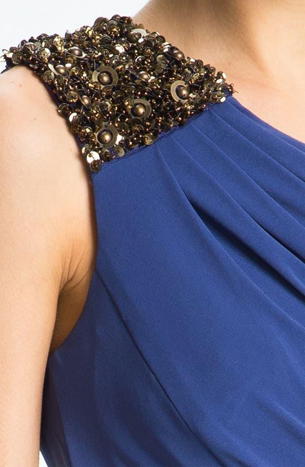 Alternate Image 3  - Max & Cleo 'Helen' Embellished One Shoulder Dress