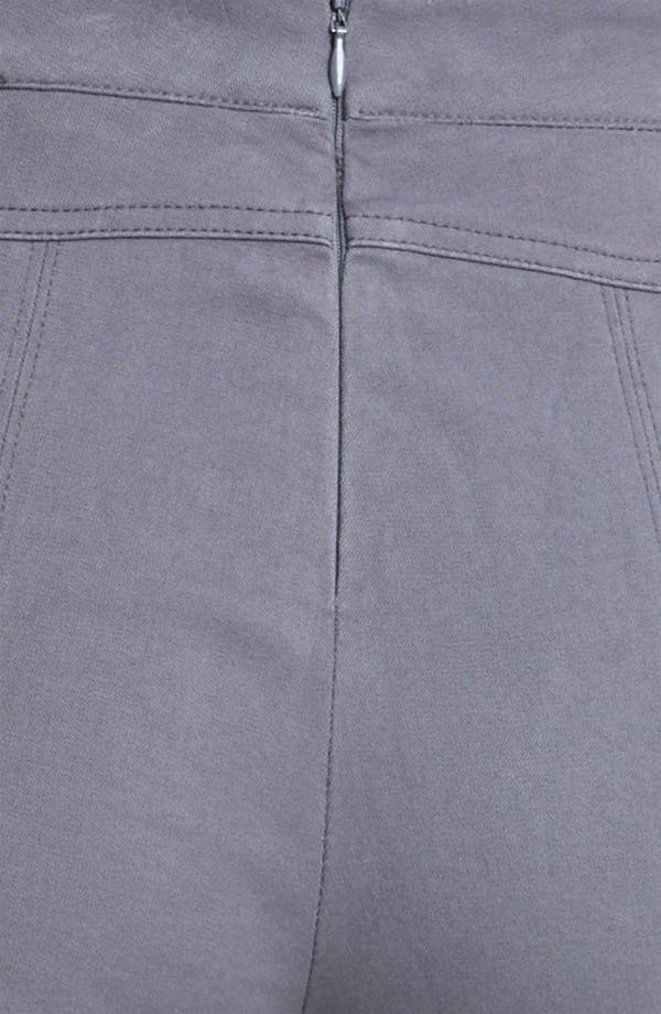 Alternate Image 3  - Donna Karan Collection Skinny Sueded Stretch Cotton Pants