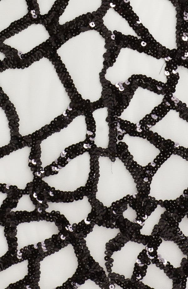 Alternate Image 3  - Suzi Chin for Maggy Boutique Sequin Pattern Shift Dress