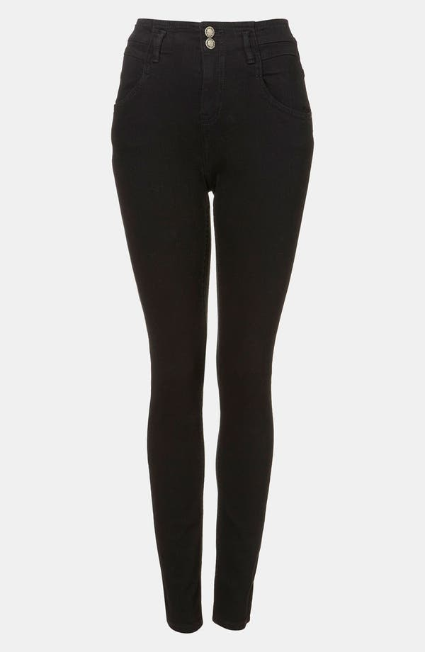 Alternate Image 1 Selected - Topshop Moto 'Kristen' High Waist Skinny Jeans