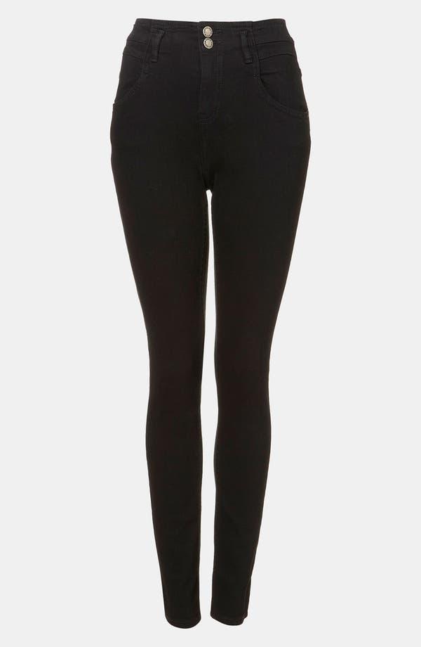 Alternate Image 1 Selected - Topshop Moto 'Kristen' High Waist Skinny Jeans