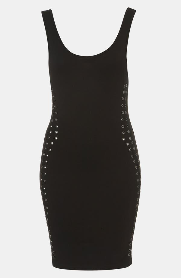 Alternate Image 1 Selected - Topshop Grommet Trim Body-Con Tank Dress