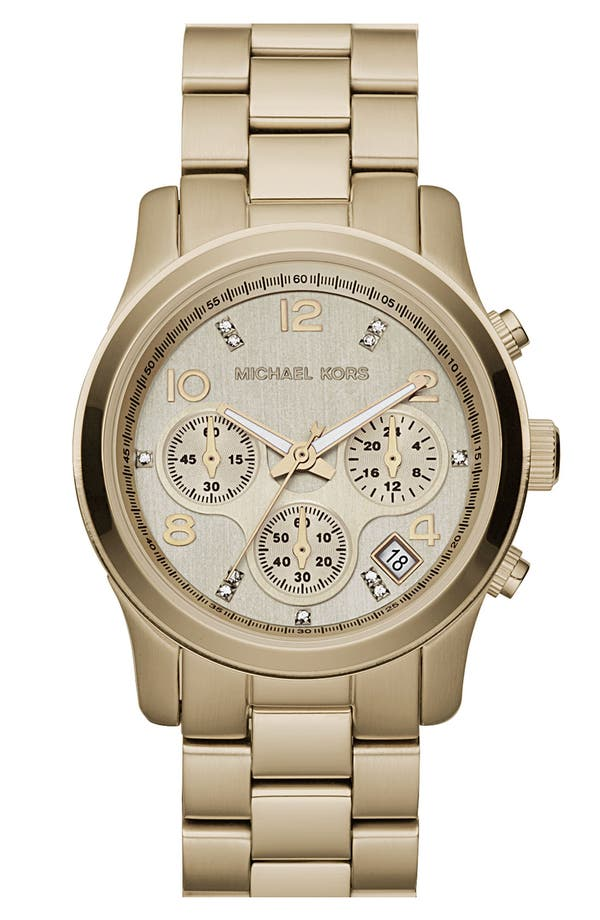 Alternate Image 4  - Michael Kors 'Runway' Boxed Watch Set