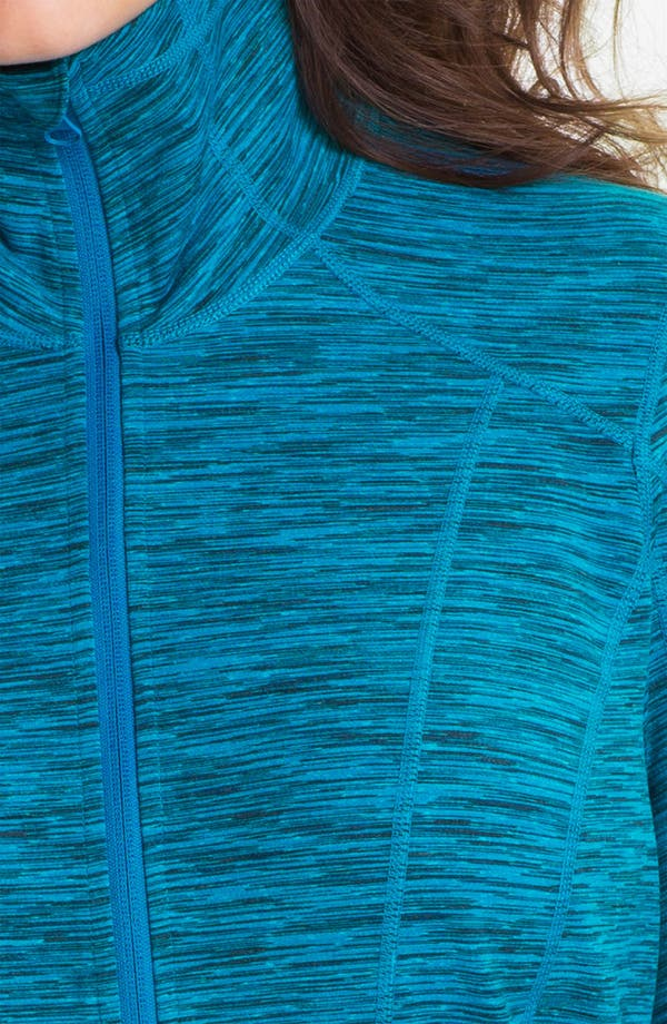 Alternate Image 3  - Zella 'Sophia' Space Dye Jacket (Plus)