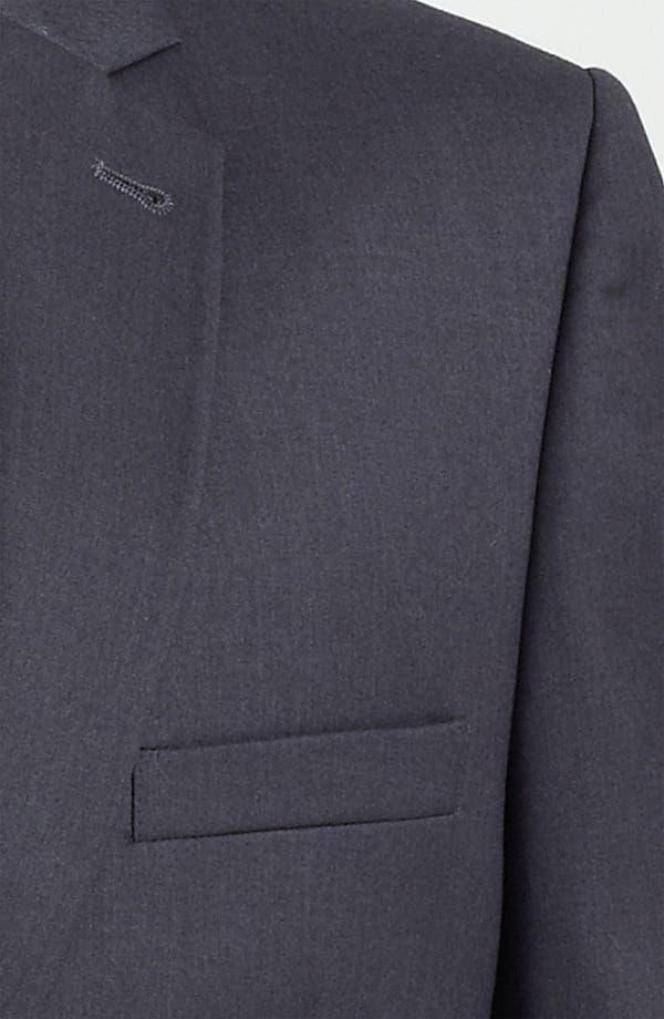 Alternate Image 3  - Topman Skinny One Button Blazer