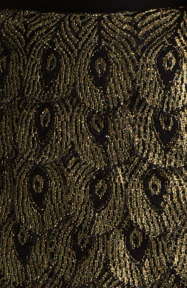 Alternate Image 3  - Haute Hippie 'Gilded Peacock' Lace Shorts