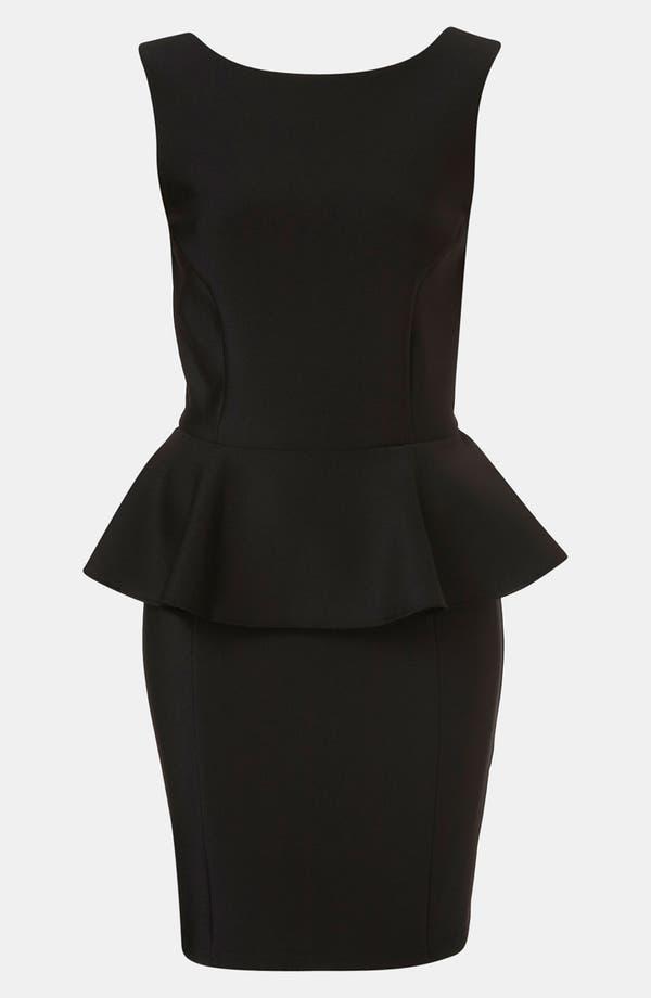 Main Image - Topshop Peplum Dress