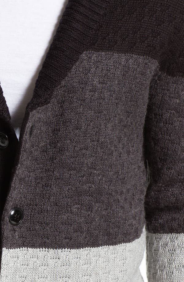 Alternate Image 3  - 55DSL 'Kanfyl' Shawl Collar Cardigan