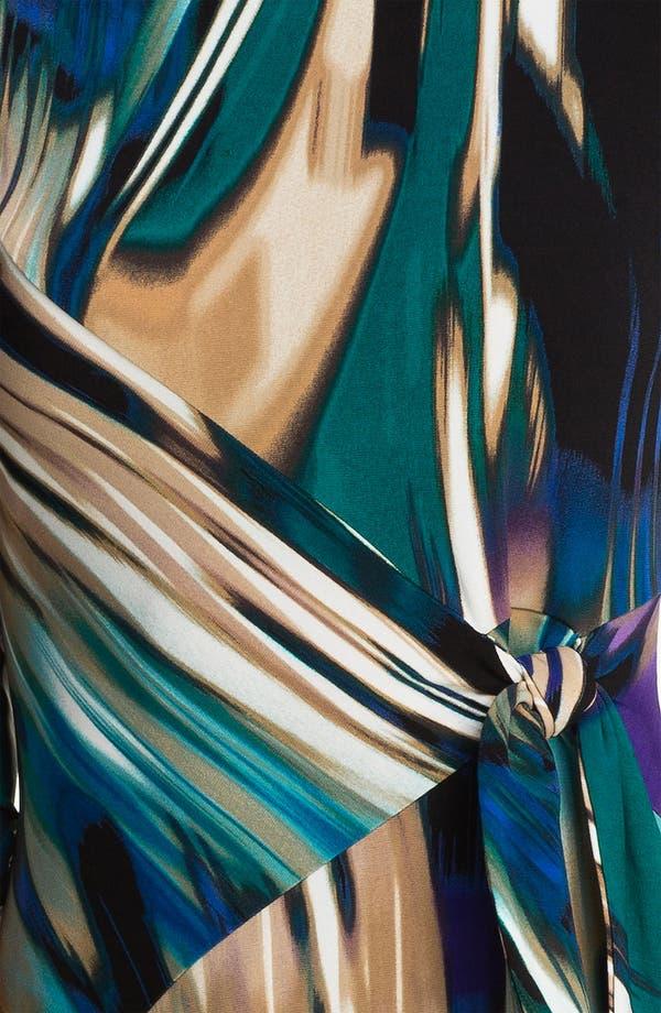 Alternate Image 3  - Calvin Klein Printed Side Tie Jersey Dress