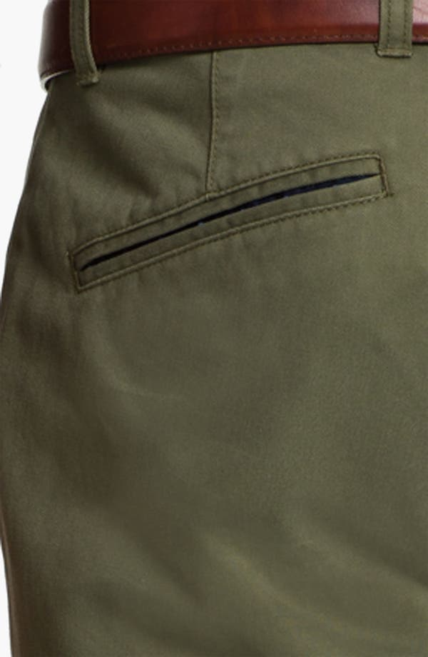 Alternate Image 3  - Brooks Brothers 'University' Slim Fit Chinos