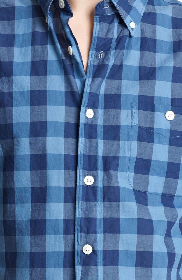 Alternate Image 3  - Todd Snyder Check Woven Shirt